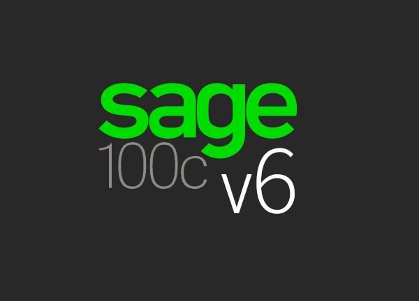 Sage 100c v6